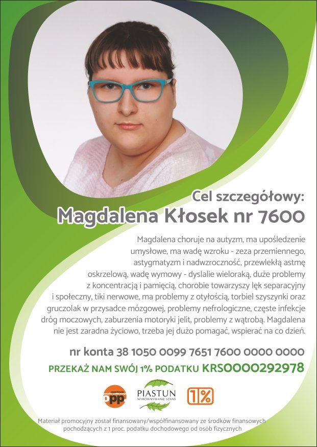 1_Fundacja-Piastun_ulotka-A6_Magdalena-Kłosek_PRZÓD