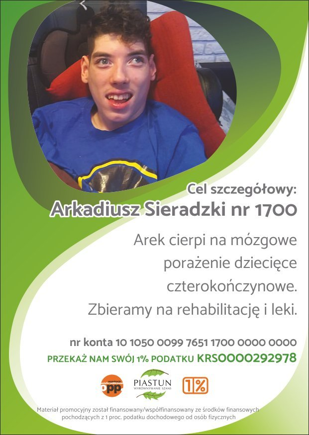 Fundacja-Piastun_ulotka-A6_ARKADIUSZ-SIERADZKI_PRZÓD