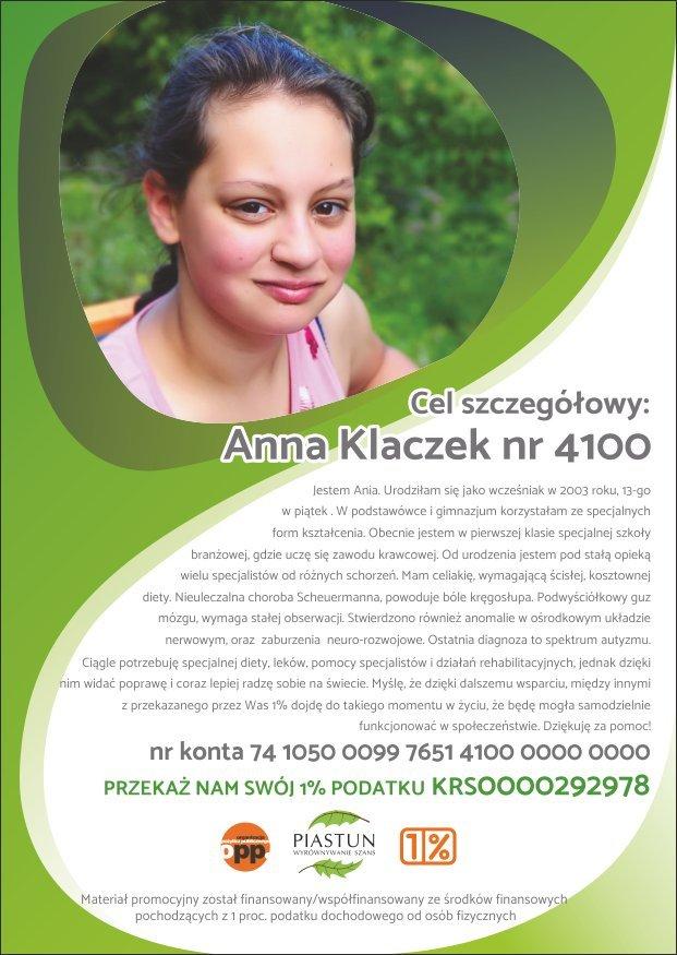 Fundacja-Piastun_ulotka-A6_Anna-Klaczek_PRZÓD
