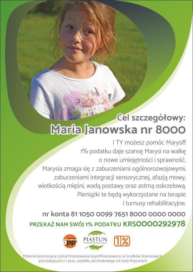 Fundacja-Piastun_ulotka-A6_Maria-Janowska_PRZÓD-1
