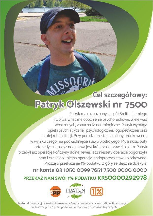 Fundacja-Piastun_ulotka-A6_Patryk-Olszewski_przód