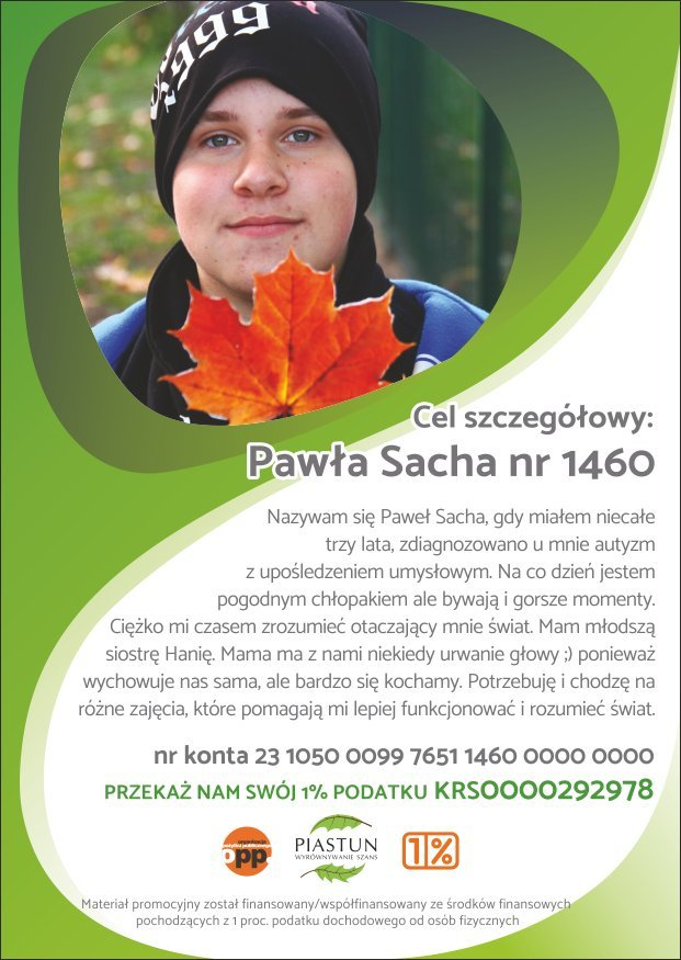 Fundacja-Piastun_ulotka-A6_Pawła-Sacha_przód
